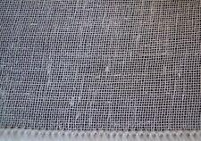 Gardinenstoff Vorhangstoff Stoff 300 cm x 750 cm, naturweiß, transparent, neu
