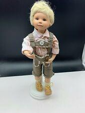 Gabriele Müller Künstlerpuppe Porzellan Puppe 28 cm. Top Zustand