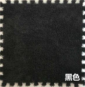 Spliced Carpet Bedroom Square Puzzle Floor Mat Plush Eva Environmentally Friendl