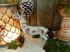 Poly Elch liegend oder stehend Weihnachten Advent Dekoration Tisch Flur Fenster