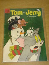 TOM AND JERRY COMICS #127 VG (4.0) DELL COMICS CHRISTMAS FEBRUARY 1955