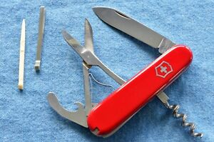 c. 1980 vtg, Victorinox 84mm GOLFER Combo-Tool w/o stop at 90° Swiss Army Knife