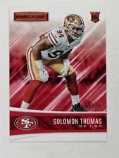 2017 Rookies & Stars Gold #220 Solomon Thomas /10 RC
