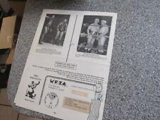 WFIA 1985 WRESTLING FAN INTERNATIONAL CONVENTION BELONGED TO ANGEL POFFO