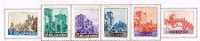 San Marino Famous Architecture Castles set 1966 MLH