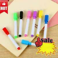 Black White board Marker Dry Pen With Eraser Easy Wipe Black M8D5 Price Low N2Q2