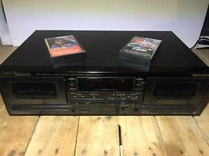 RCA PROFESSIONAL SERIES  SCT-560  DOLBY PRO STEREO  DOUBLE CASSETE DECK