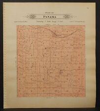 Nebraska, Lancaster County Map, 1903, Township of Panama, L1#47