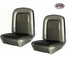 1967 Mustang FASTBACK Front Bucket & Rear Seat Upholstery Ivy Gold, by TMI