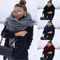 Unisex Mens Womens Winter Long Scarf Warm Shawl Wraps Blanket Ladies Scarves