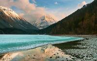 Framed Print - Lake Baikal Siberia Russia (Picture Poster Art Mountain Range)