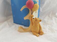 Classic Pooh - Number 3 Figurine - Pooh with balloons (Winnie The Pooh) (71)