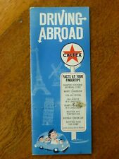 Caltex: Driving Abroad, 1965 US guide to car travel in Europe