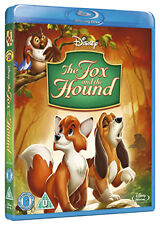 THE FOX AND THE HOUND - BLU-RAY - REGION B UK