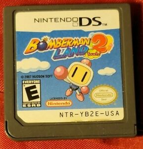 Bomberman Land Touch 2 (Nintendo DS, 2006) Cartridge only tested works