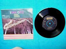 STAN GETZ 4 track 7 inch ep. Ex- (Bravo label 1965) BR 358