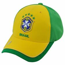 BRAZIL CAP BRASIL HAT AUTHENTIC OFFICIAL NATIONAL TEAM ONE SIZE NEYMAR JR