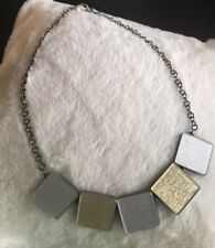 Color by Amber Ecoresin Square Necklace