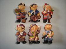 Pirates Pigs Cute Piggies Ceramic Figurines Set Figures Collectibles Miniatures