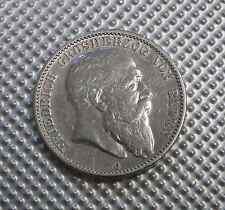 Deutsches Reich 2 Mark 1904 Friedrich Grosherzog von Baden G Silber