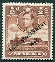 MALTA 1948-53 1/2d red-brown SG235 mint MH FG SELF-GOVERNMENT #W29