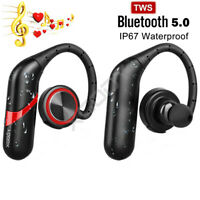 XGODY IPX7 Wireless Bluetooth5.0 Earbuds Headphone Sports Running In Ear Headset