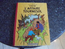belle eo tintin l'affaire tournesol  4e plat b20 1956