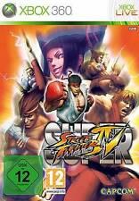 XBOX 360 SUPER STREET FIGHTER 4 IV GOLD * Sehr guter Zustand
