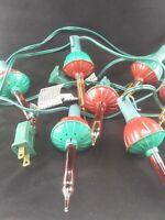 Bubble Lights 7 Bulb String Lights Christmas Holiday