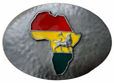 Africa Belt Buckle