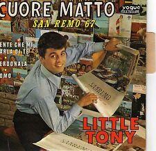 LITTLE TONY CUORE MATTO FRENCH ORIG EP