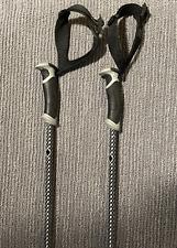 Black Diamond fixed length carbon ski poles 130cm