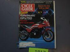 Cycle Guide Magazine February 1983- Kawasaki GPz750, Honda GL1100 Aspencade