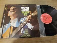 Stonewall Jackson - Greatest Hits - LP Record   VG+ VG