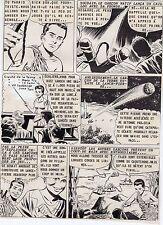 L'HOMME QUI REDEVINT ENFANT PLANCHE DE MONTAGE AVENTURES FICTION 1958  PAGE 5