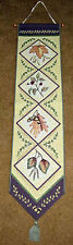 Walk In The Woods ~ Autumn Leaves Tapestry Wall Hanging Bellpull