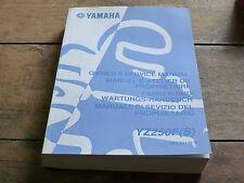 MANUEL REVUE TECHNIQUE D ATELIER YAMAHA YZ 250 F 2004 YZF service manual