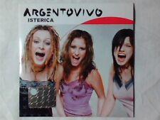 ARGENTOVIVO Isterica cd singolo PR0M0 RARISSIMO ARGENTO VIVO