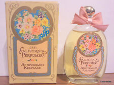 AVON SWEET HONESTY COLOGNE 1.7 OZ  CALIFORNIA PERFUME ANNIVERSARY KEEPSAKE NIB