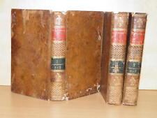 LUNIER Dictionnaire Sciences Arts Anatomie Médecine Arts et Métiers etc 3T 1806
