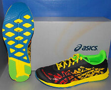 MENS ASICS GEL - NoosaFAST  in colors FLAME / BLACK / YELLOW SIZE 8.5