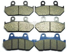 Front Rear Brake Pads For Honda GL 1500 Goldwing 1500 SE L 1990-2000 BRAKES SET