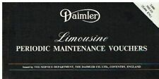 DAIMLER DS420 LIMOUSINE ORIGINAL FACTORY SERVICE RECORD BOOKLET