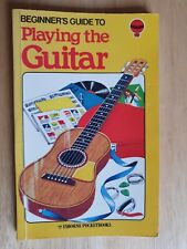 Pocket book: Playing The Guitar - Usborne Beginners Guide