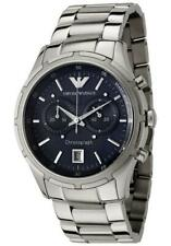 Emporio Armani AR0583 Quartz Chronograph Date Stainless Steel Mens Watch
