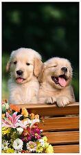 """30""""x60"""" Cute Puppies  Beach Towel"""
