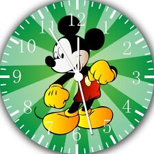 """Disney Mickey Mouse wall Clock 10"""" will be nice Gift and Room wall Decor E103"""