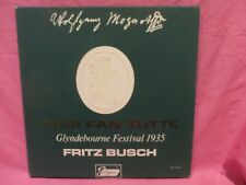 Mozart: Cosi Fan Tutte. Busch 3 LP BOX SET Turnabout VOX