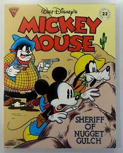 GLADSTONE COMIC ALBUM (1989) #22 MICKEY MOUSE Sheriff Of NUGGET GULCH VF/NM