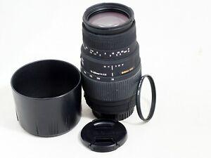 CANON Sigma Lens 70-300 F4-5.6 DG Macro t3i t4i t5i t6i t7i 50D 60D 70D 80D 7D